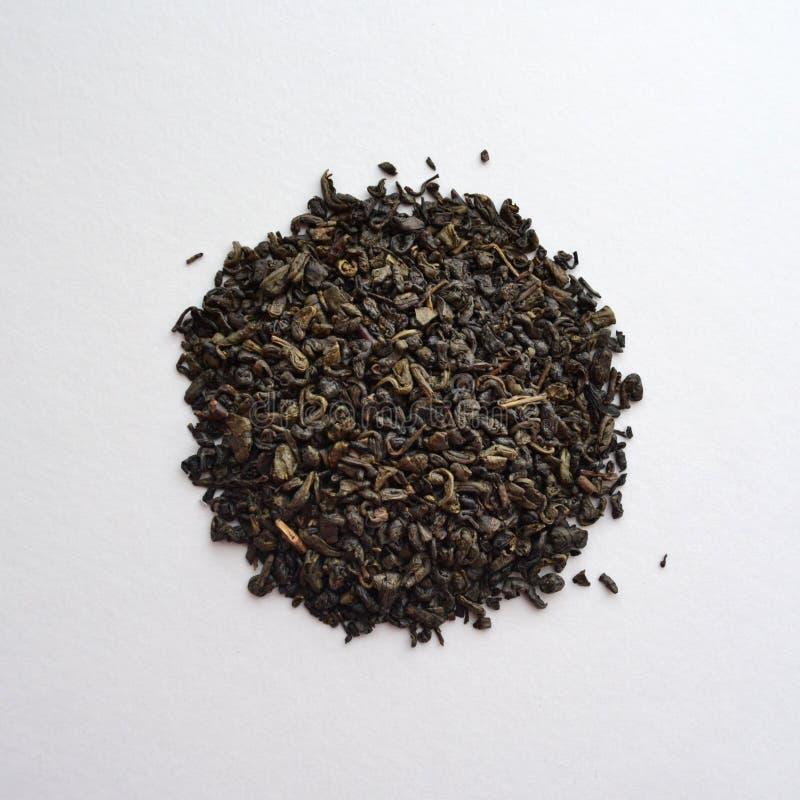 Thé vert de poudre chinoise photo stock