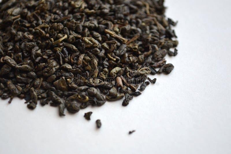 Thé vert de poudre chinoise photographie stock