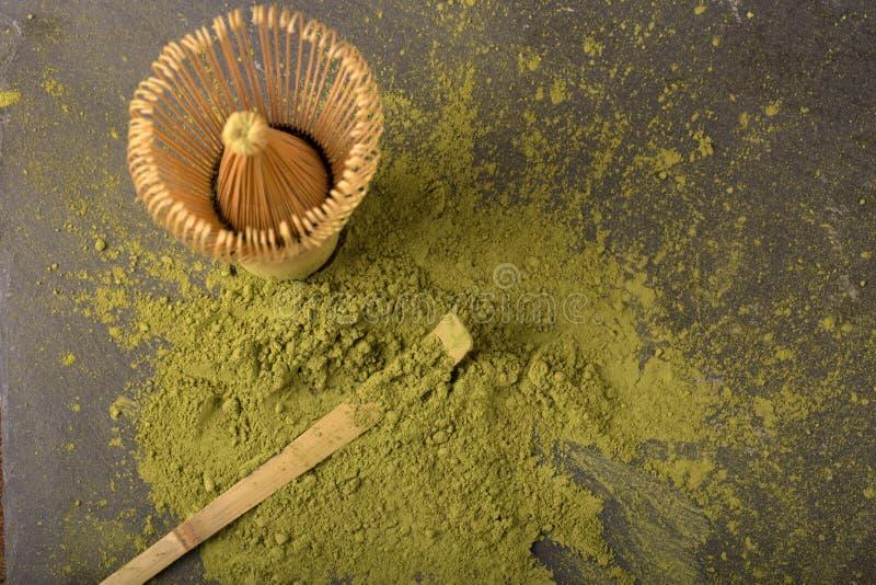 Thé vert matcha photos libres de droits