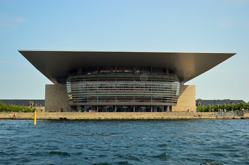 Théatre de l'opéra de Copenhague photo stock