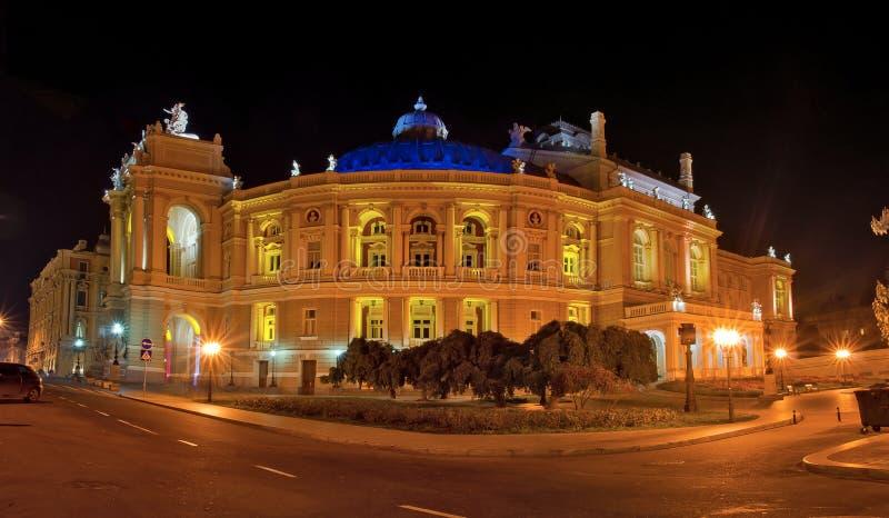 Théatre de l'$opéra d'Odessa images libres de droits