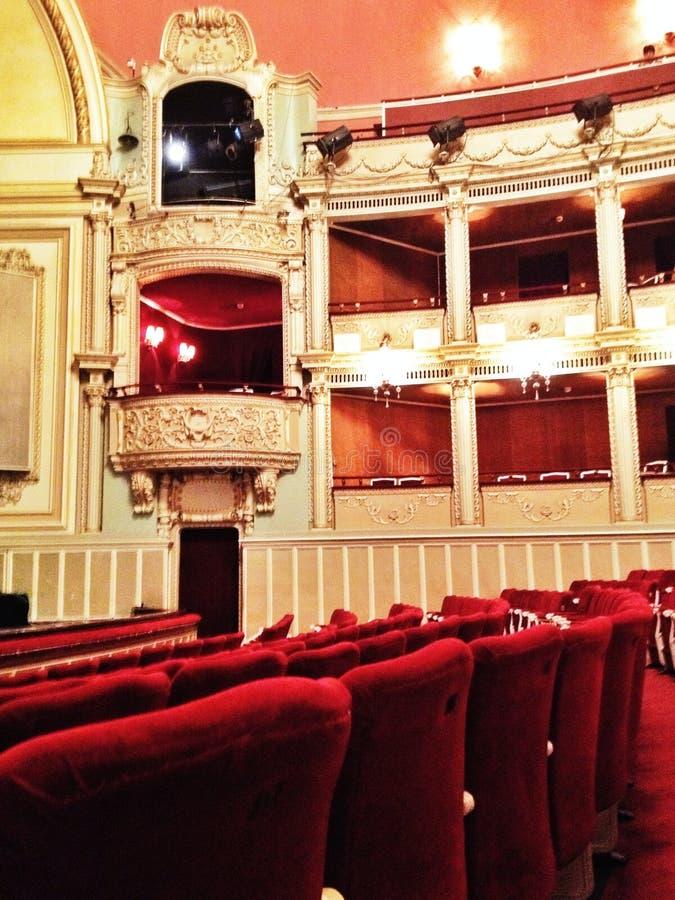 Théatre de l'opéra de Bucarest photo stock