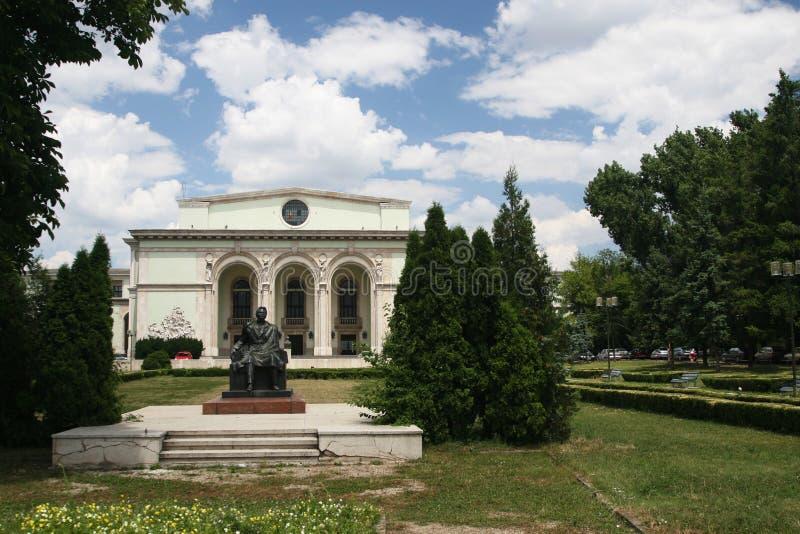 Théatre de l'$opéra de Bucarest photo libre de droits