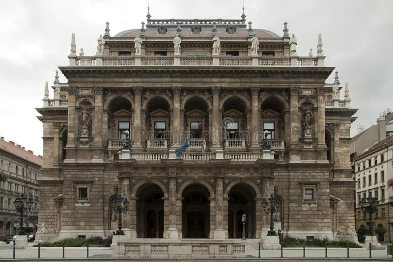 Théatre de l'$opéra de Budapest photos libres de droits