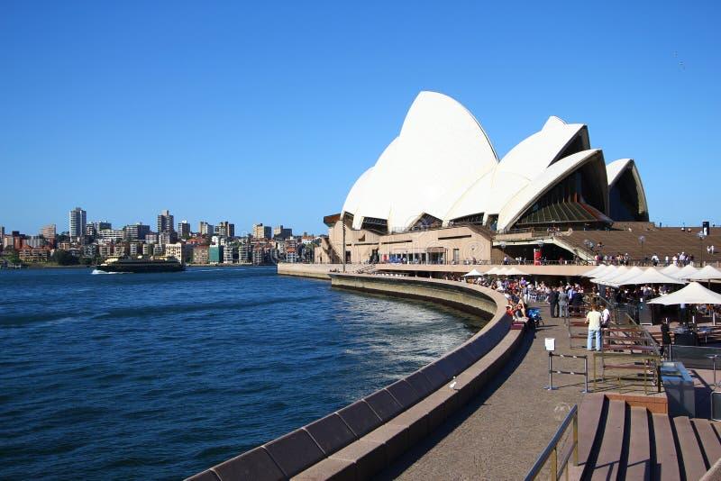Théatre de l'$opéra de Sydney photos libres de droits