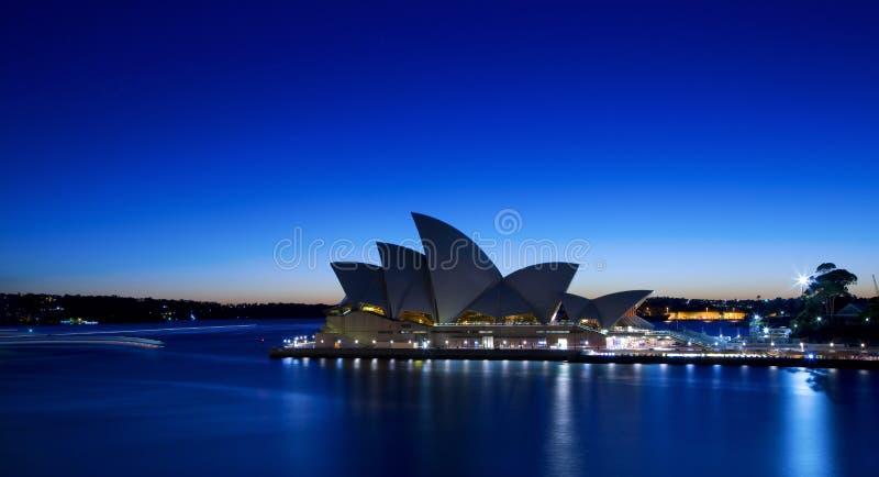 Théatre de l'$opéra de Sydney image libre de droits