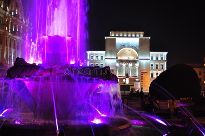Théatre de l'opéra de Timisoara images libres de droits