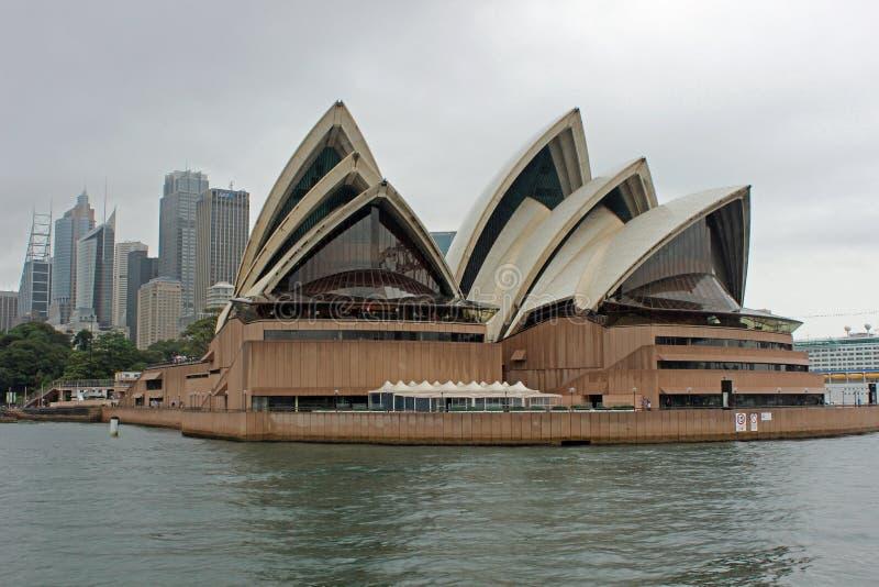 Théatre de l'opéra, port de Sydney, Australie photos stock