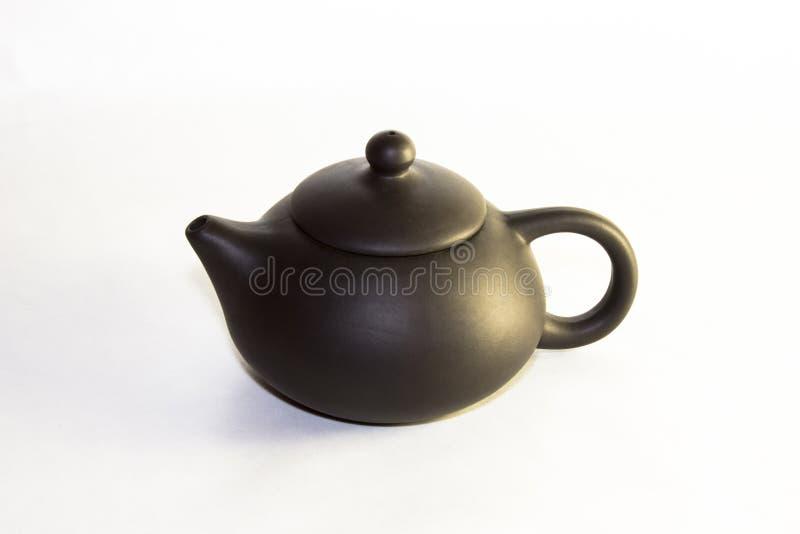 Théière en céramique de Chakhu, cha HU photo stock