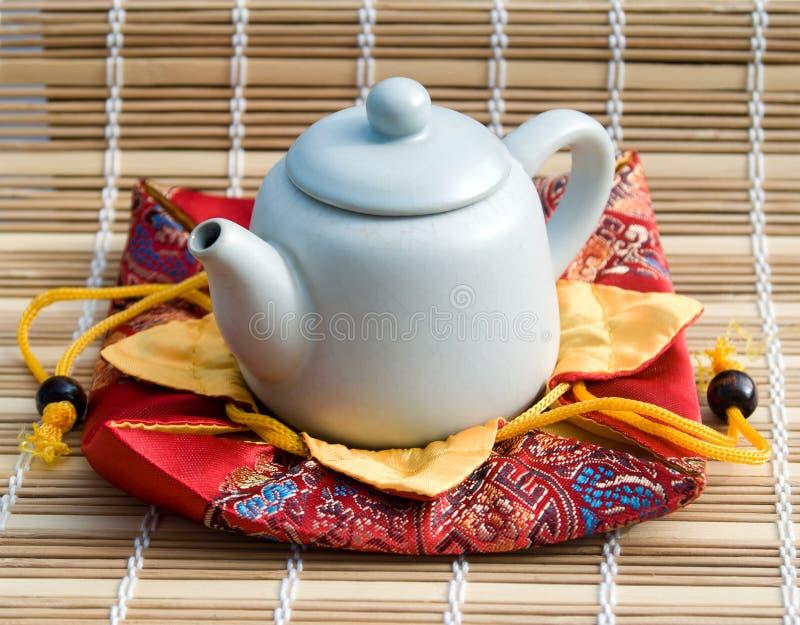 Théière pour la cérémonie de thé photos libres de droits