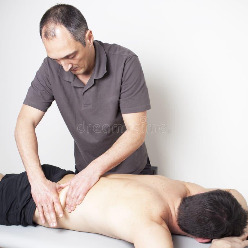 Thérapie de Myofascial photo stock