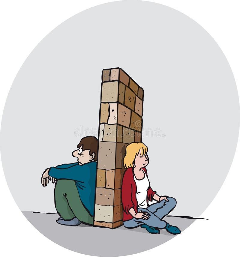 Thérapie parlante illustration de vecteur