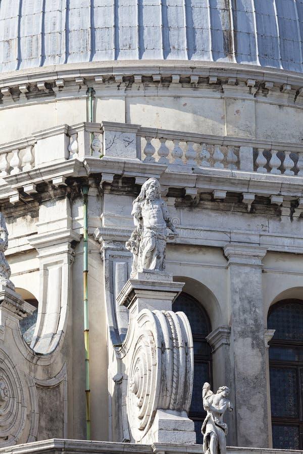 17th århundrade kyrkliga Santa Maria della Salute, Venedig, Italien för barock royaltyfri fotografi