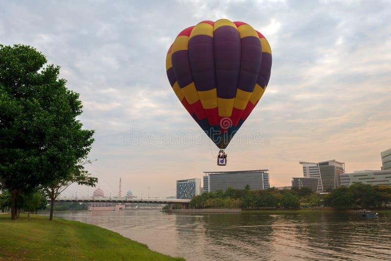 10th årsdag av ballongen Malaysia's för varm luft royaltyfri bild