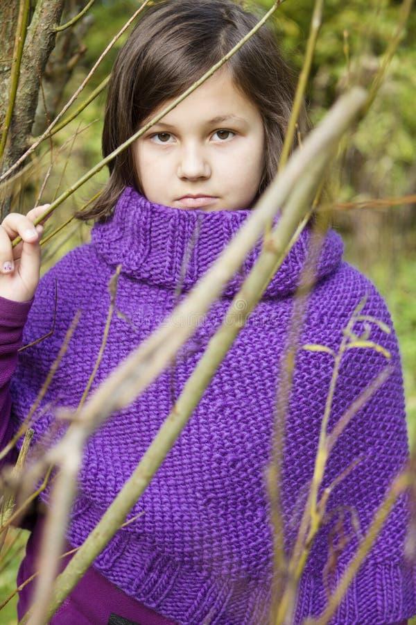 2th συγκεχυμένα έτη κοριτσιών στοκ εικόνες με δικαίωμα ελεύθερης χρήσης