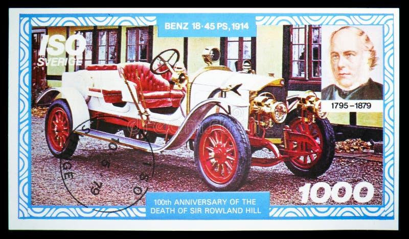 100th годовщина смерти господина Rowland Холма, serie, около 1979 стоковые изображения rf