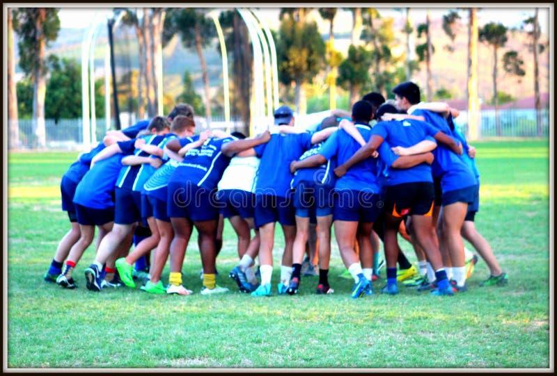 th команды спорта футбола чашки призовой стоковое изображение rf