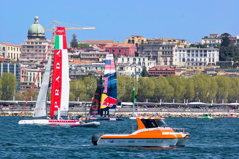 Download 34th America's Cup World Series 2013 In Naples Editorial Stock Photo - Image of china, italy: 30500663