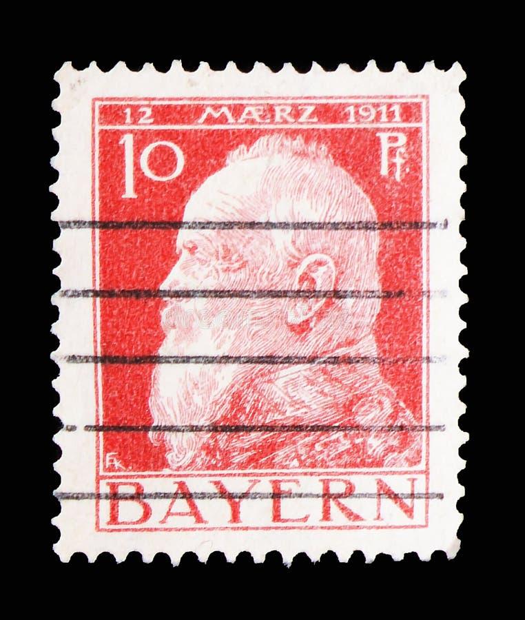 90th aniversário do regente Luitpold do príncipe, serie de Baviera, cerca de 1911 foto de stock