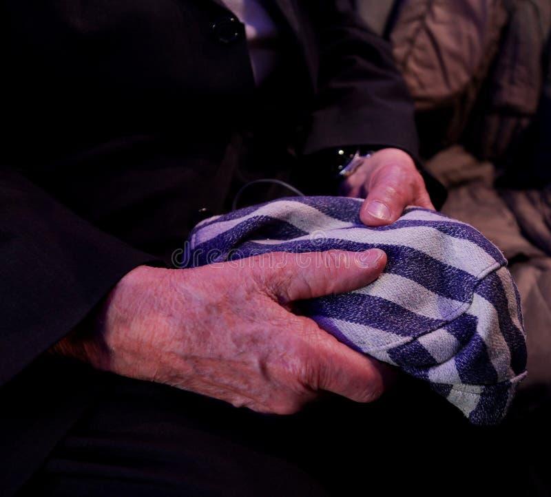 70th anniversary of Auschwitz liberation stock photo