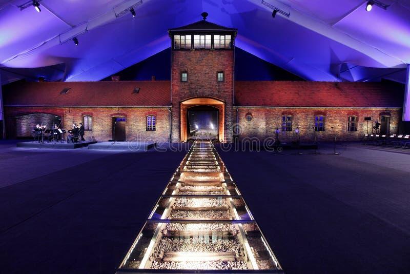 70th anniversary of Auschwitz liberation stock photos