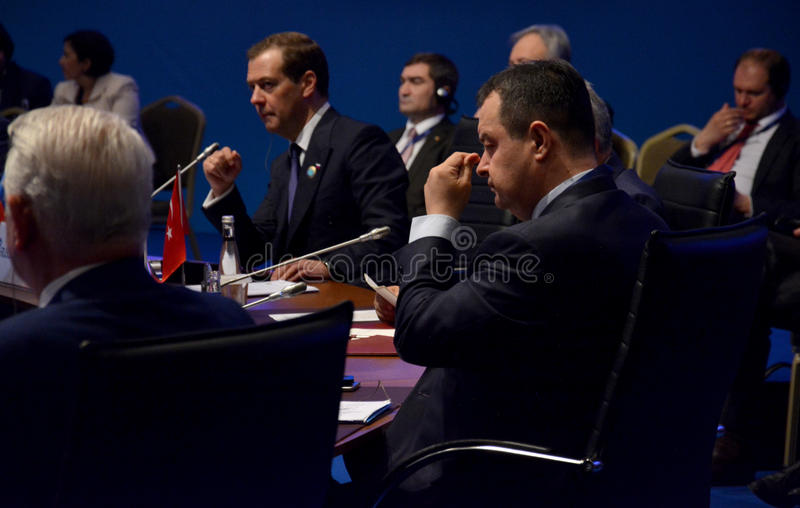 25th Anniversary Summit of the Black Sea Economic Cooperation BSEC royalty free stock images