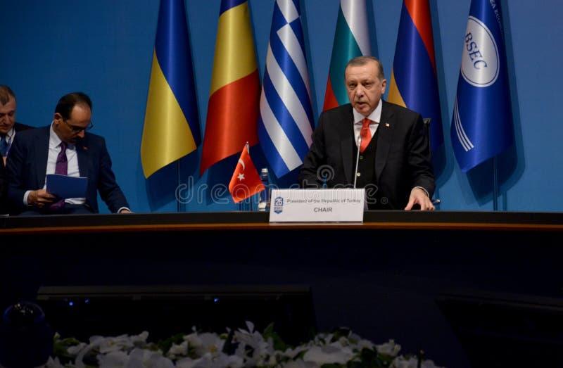 25th Anniversary Summit of the Black Sea Economic Cooperation BSEC stock photo