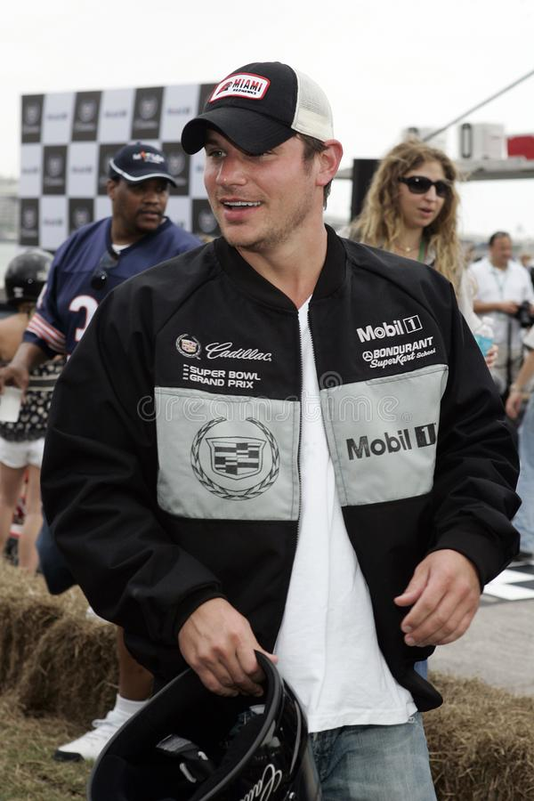 5th Annual Celebrity Cadillac Super Bowl Grand Prix stock photography