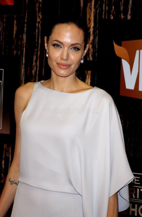 14th Annual Critics` Choice Awards. Angelina Jolie at the 14th Annual Critics` Choice Awards held at the Santa Monica Civic Center in Santa Monica on January 8 royalty free stock image