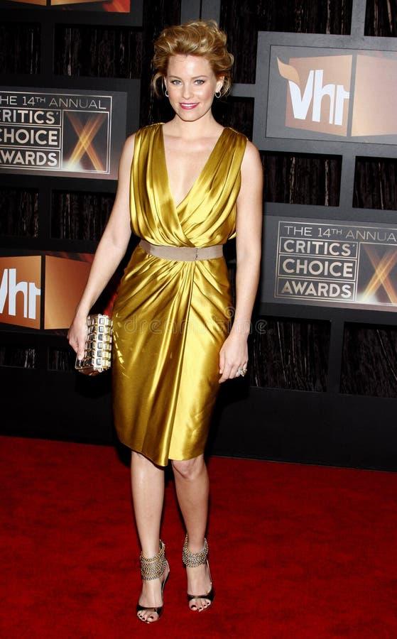 14th Annual Critics` Choice Awards. Elizabeth Banks at the 14th Annual Critics` Choice Awards held at the Santa Monica Civic Center in Santa Monica on January 8 stock image