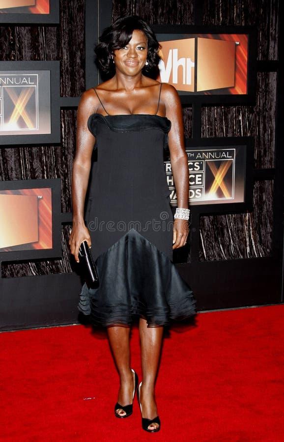 14th Annual Critics` Choice Awards. Viola Davis at the 14th Annual Critics` Choice Awards held at the Santa Monica Civic Center in Santa Monica on January 8 royalty free stock image