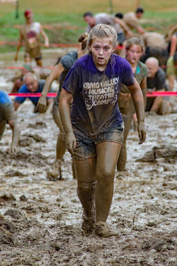 Hardcore mud run