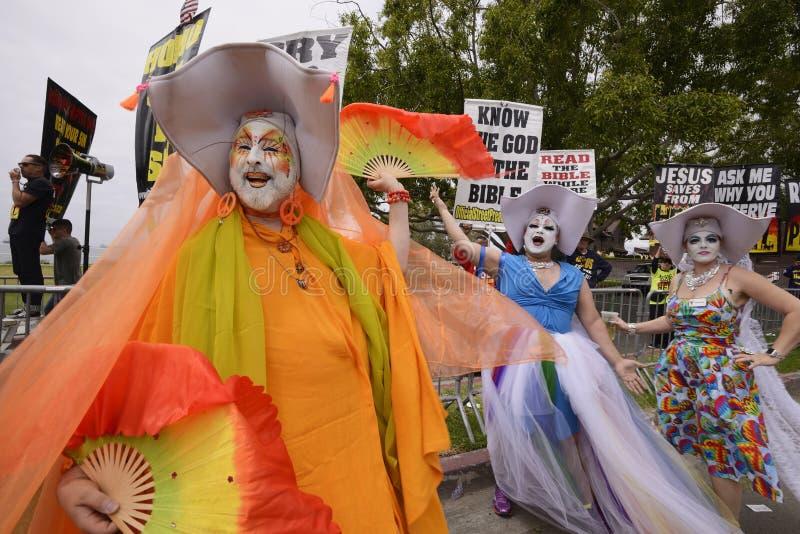 35th Annual Pride Parade stock photos
