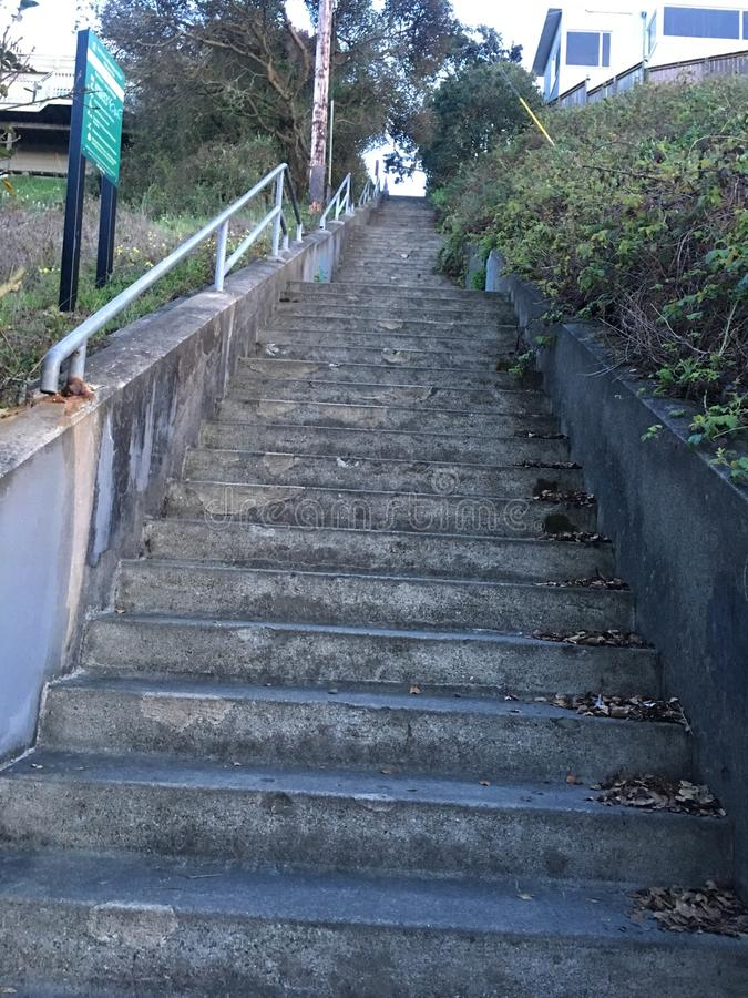 15Th Avenue steps, one of San Francisco`s smallest, UNofficial parks, 5. San Francisco has many beautiful, and well known, parks, as well as hills. There are stock photos