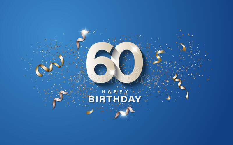 60th Birthday Stock Illustrations 1 969 60th Birthday Stock Illustrations Vectors Clipart Dreamstime