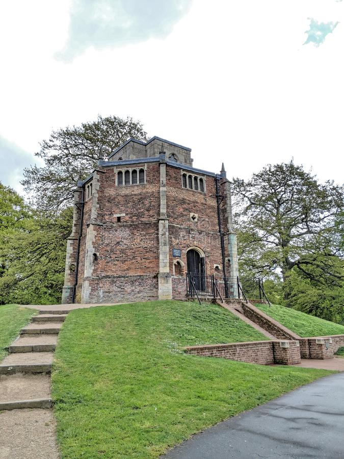 Red Mount Chapel in King`s Lynn stock photo