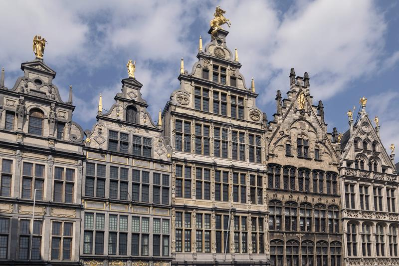 Guildhouses - Antwerp - Belgium royalty free stock photography