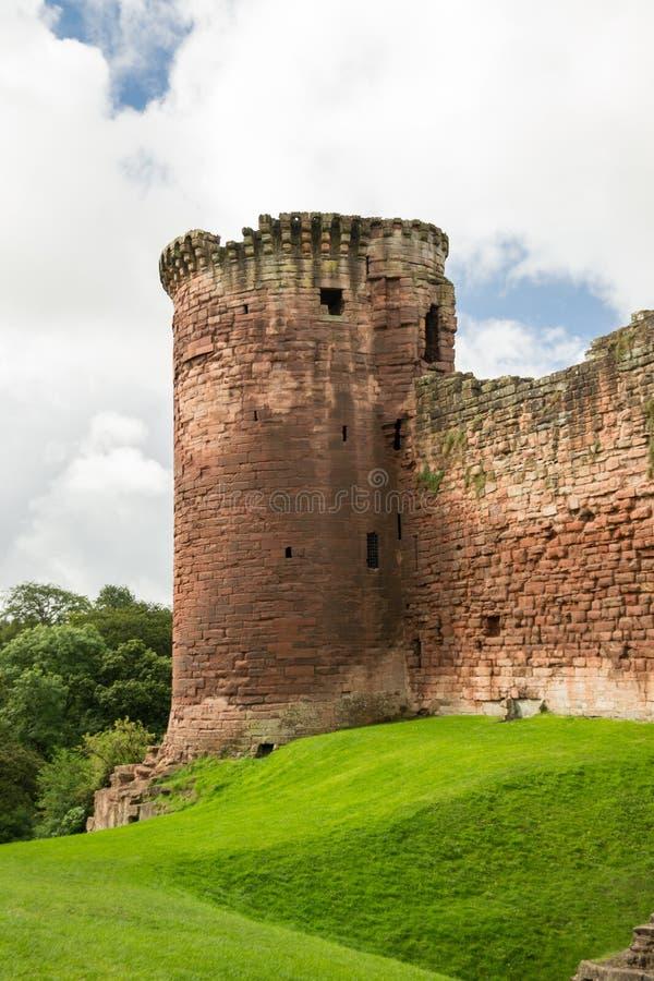 Bothwell Castle in Scotland royalty free stock photo