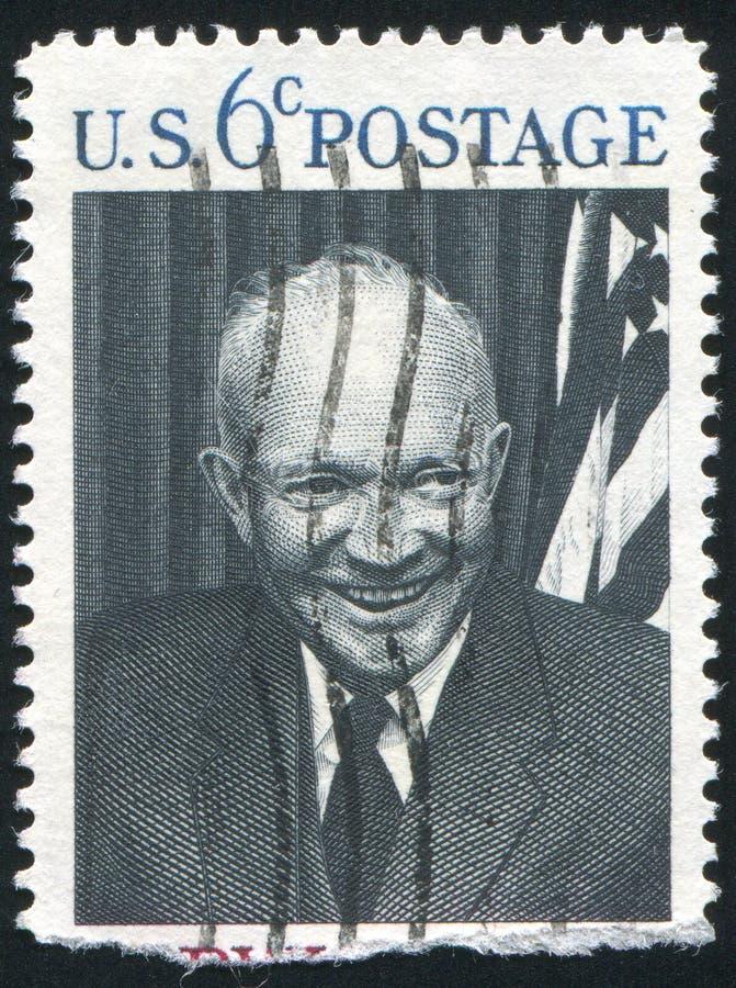 1953 1961 1969 34th D Dwight Eisenhower utsände förenade presidenttillstånd eisenhower royaltyfri bild