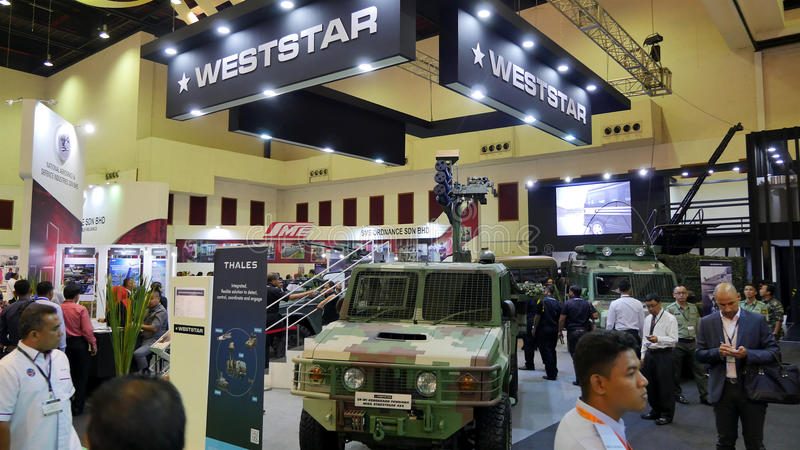 15th Defence Services Asia Exhibition 2016 stock photo