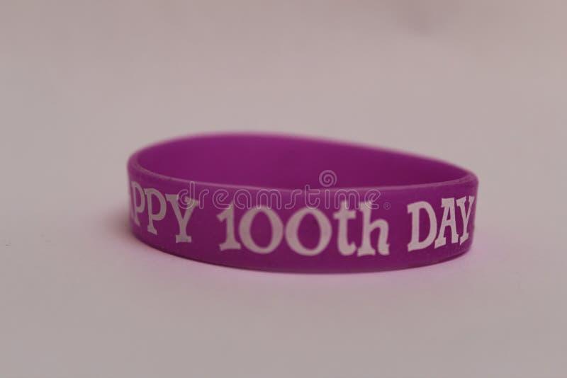 100th dia da escola Feriados de escola imagem de stock