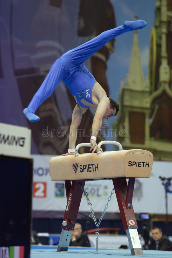 Download 5th European Championships In Artistic Gymnastics Editorial Image - Image of alberto, blue: 30643355