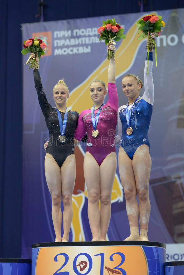 5th European Championships In Artistic Gymnastics Editorial Stock Image