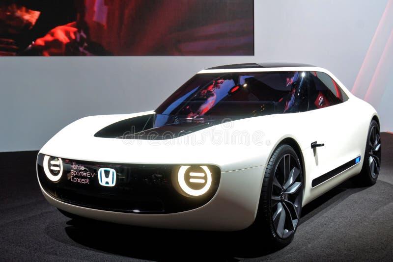 88th exposição automóvel internacional 2018 de Genebra - conceito dos esportes EV de Honda foto de stock royalty free