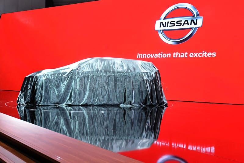 89th exposi??o autom?vel internacional de Genebra - conceito de Nissan IMQ fotografia de stock royalty free