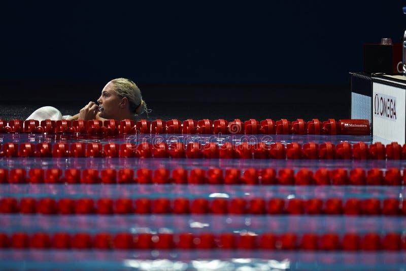 15th FINA WORLD CHAMPIONSHIPS Barcelona 2013 royalty free stock photo