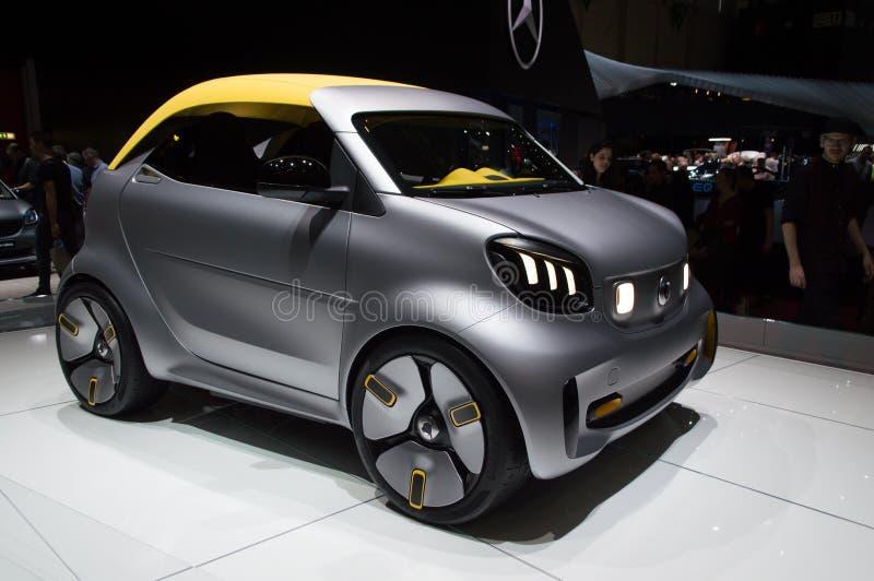Smart Roadster at Geneva 2019 royalty free stock photo