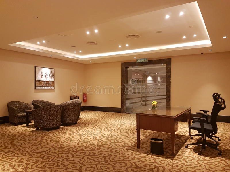 15th jan 2017, Kuala Lumpur.In look of Hotel Sunway Putrael Sunway. Inlook design of Hotel design at Sunway Putra Hotel stock image
