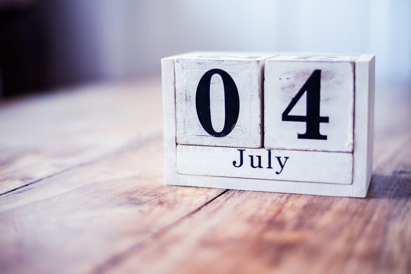 4th Juli, 4 Juli - självständighetsdagen i Amerikas förenta stater royaltyfri bild