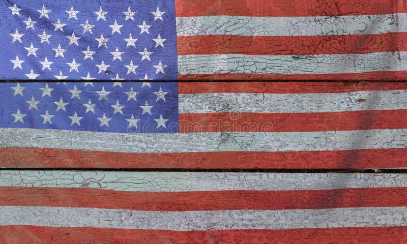 4th Juli, USA-självständighetsdagen, kopieringsutrymme, bakgrund, amerikanska flaggan, Amerikas förenta stater arkivfoto